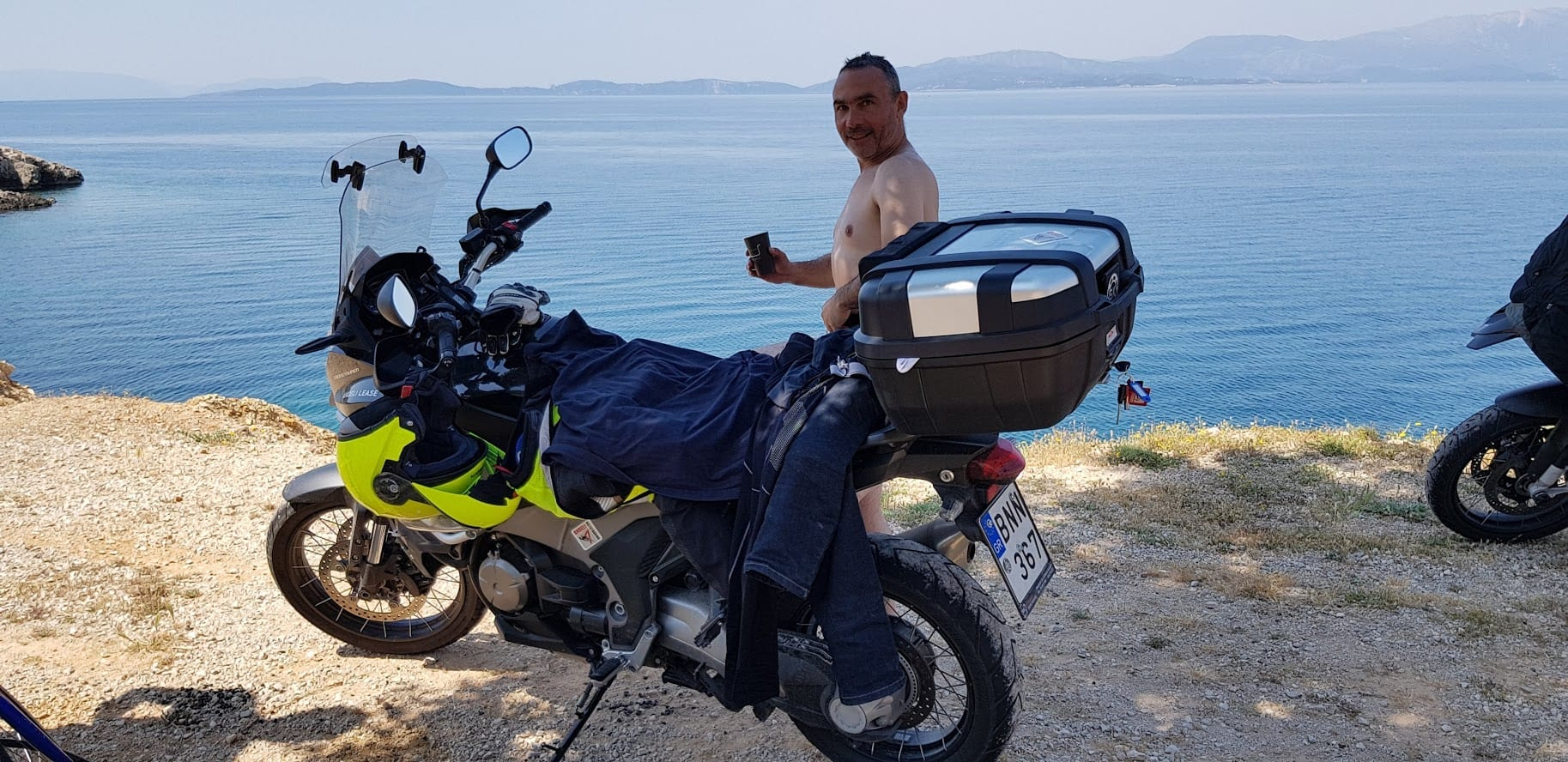 טיול אופנועים ביוון