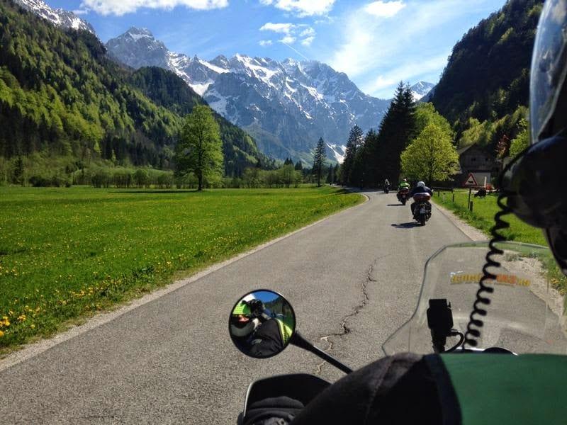 טיול אופנועים בסלובניה קרואטה