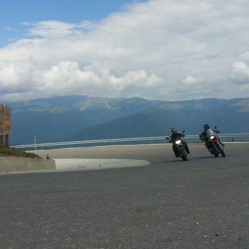 טיול אופנועים ברומניה