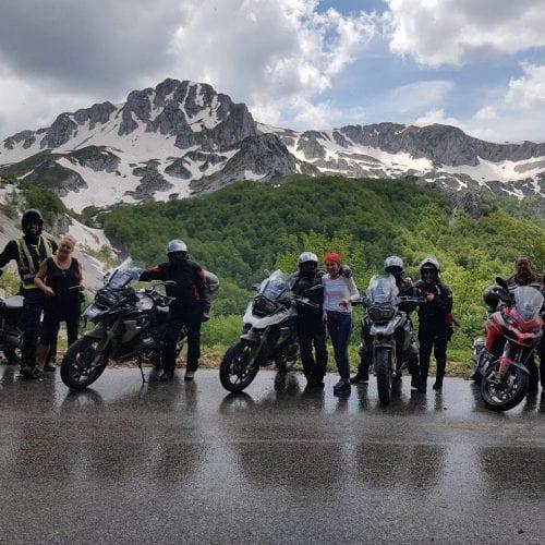 טיול אופנועים במרכז איטליה