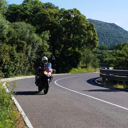 טיול אופנועים בסרדיניה