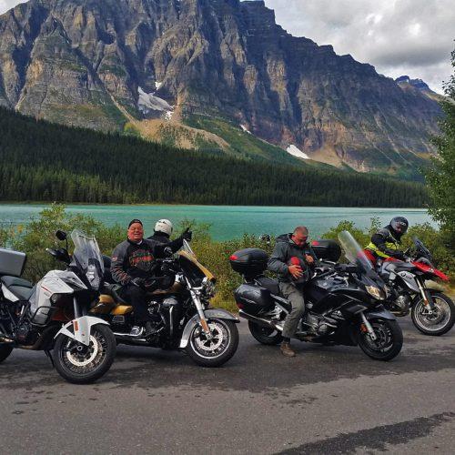טיול אופנועים ברוקיז הקנדיים