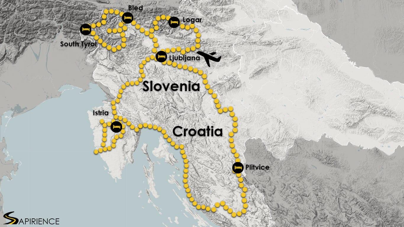 Croatia Slovenia motorcycle adventure