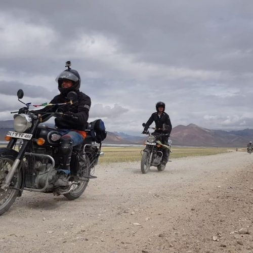 טיול אופנועים בהימלאיה